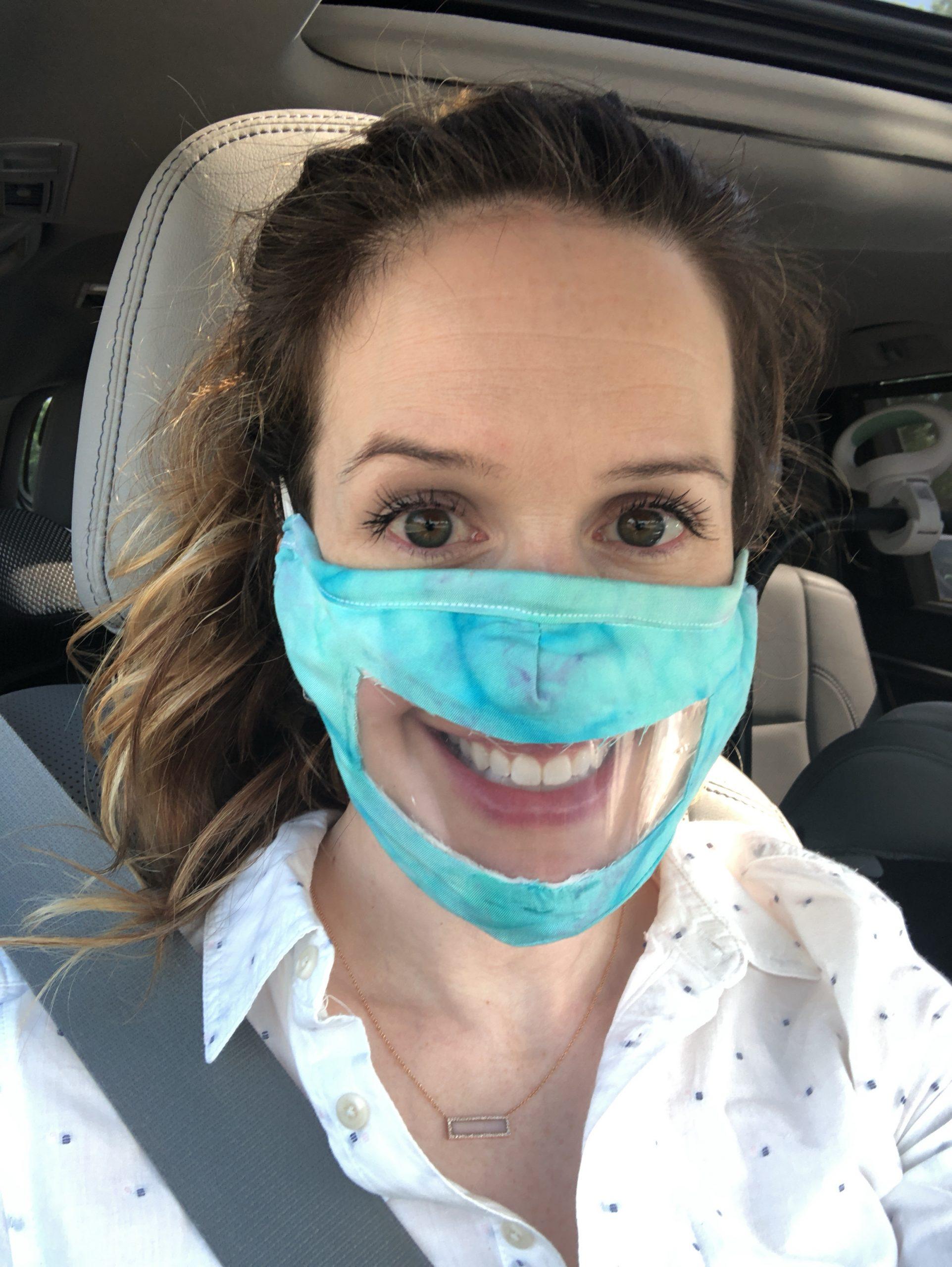 Clear mask charlotte